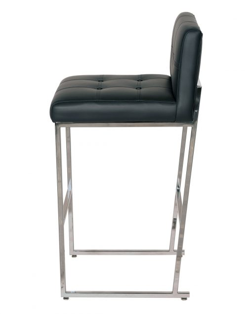 Button Metal Barstool