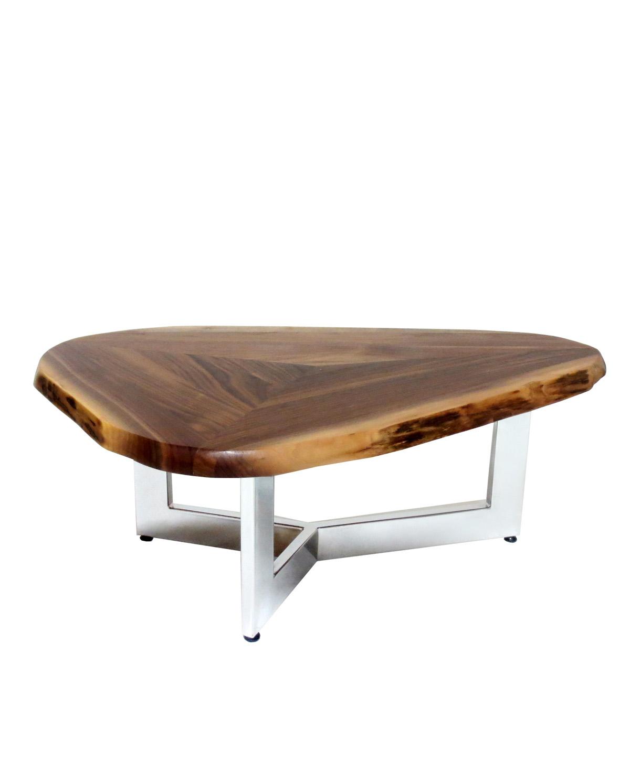 Custom_walnut_triangle_table_top_isa_international ·  Custom_walnut_triangle_table_top2_isa_international