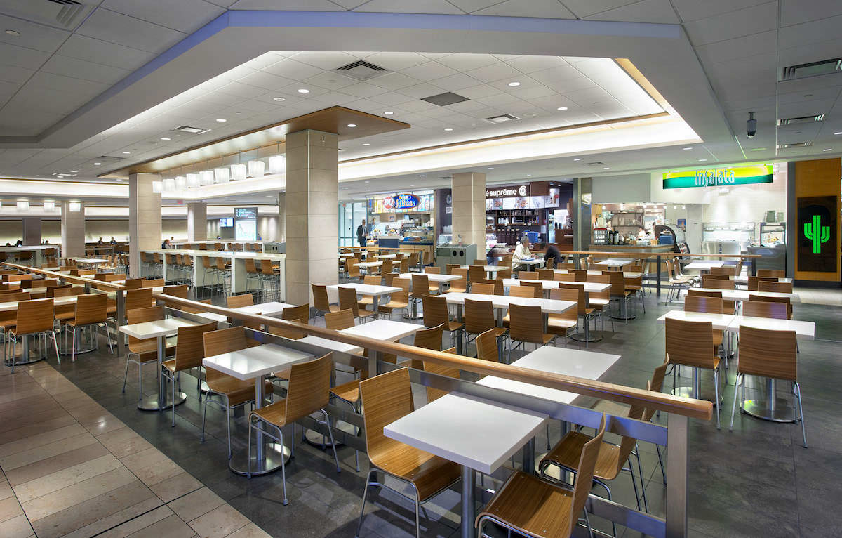 Pacific Centre New Food Court Isa International
