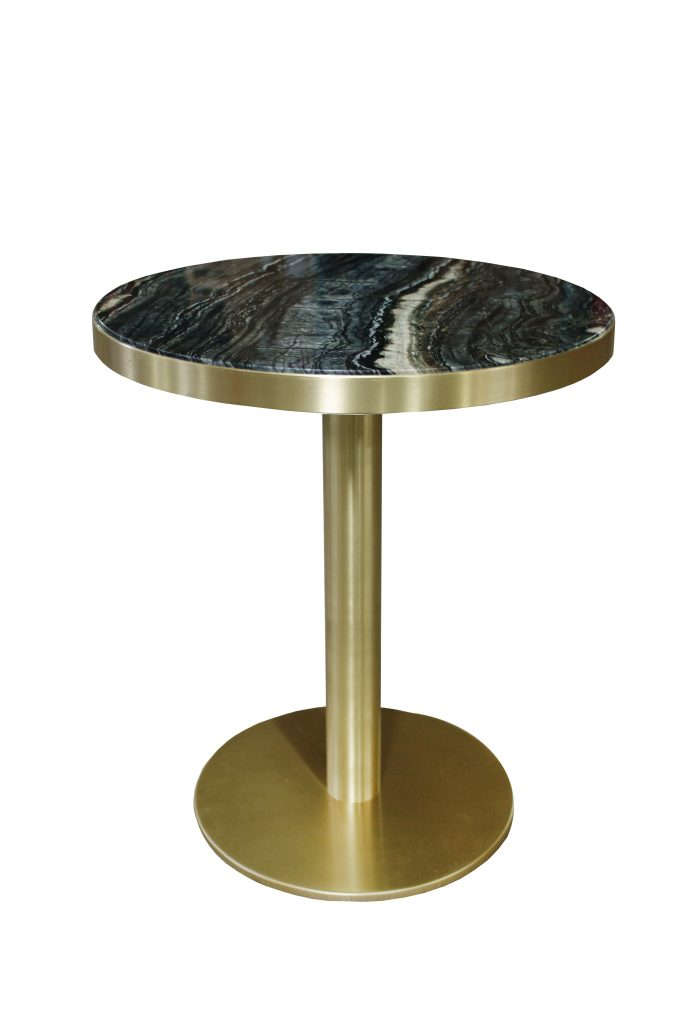Black Sea Serpentine Table_ ISA_International
