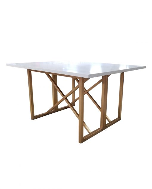 Custom Stone Table With Metal Base_ISA_International_1